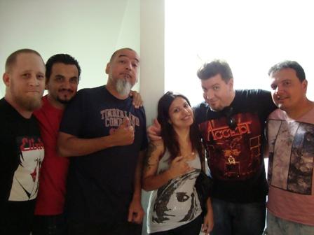 SÃO PAULO 10/01/2012 (GRAVAÇÃO DO NOVO CD) - SP